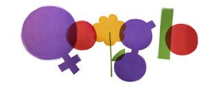 Doodle de Google del Día de la Mujer