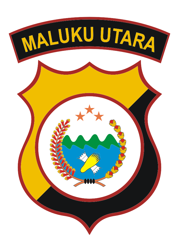 Polda Maluku Utara Logo Vector download free