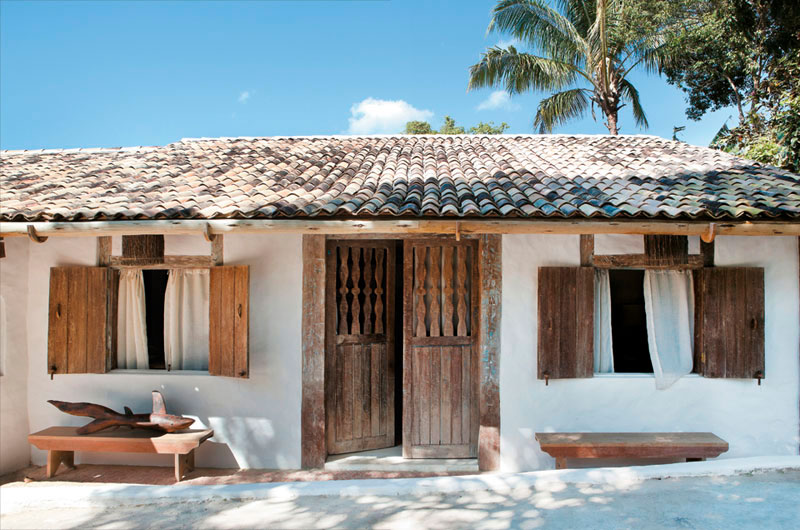 casa en la playa con un look natural