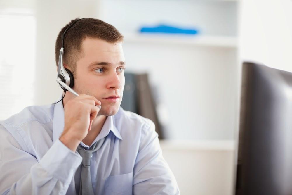 inbound call center service representative