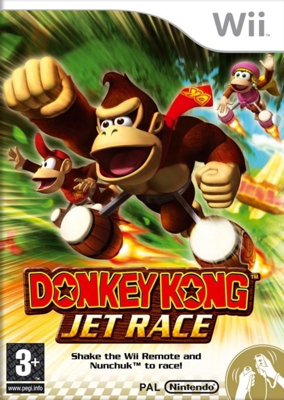 [Wii] Donkey Kong Jet Race PAL Español JC