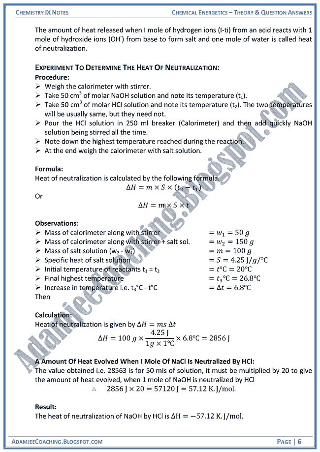 chemical-energetics-theory-notes-and-question-answers-chemistry-ix