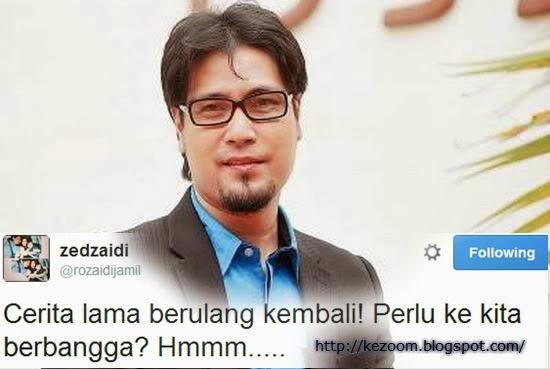 Zed Zaidi Kecewa Aaron Aziz Menang ABPBH 2014