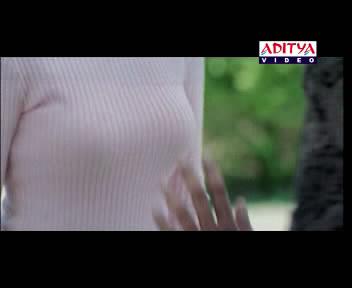 shreya boob pressing