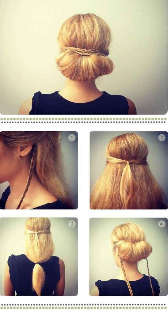Un Peinado Fácil y Rápido de Hacer.