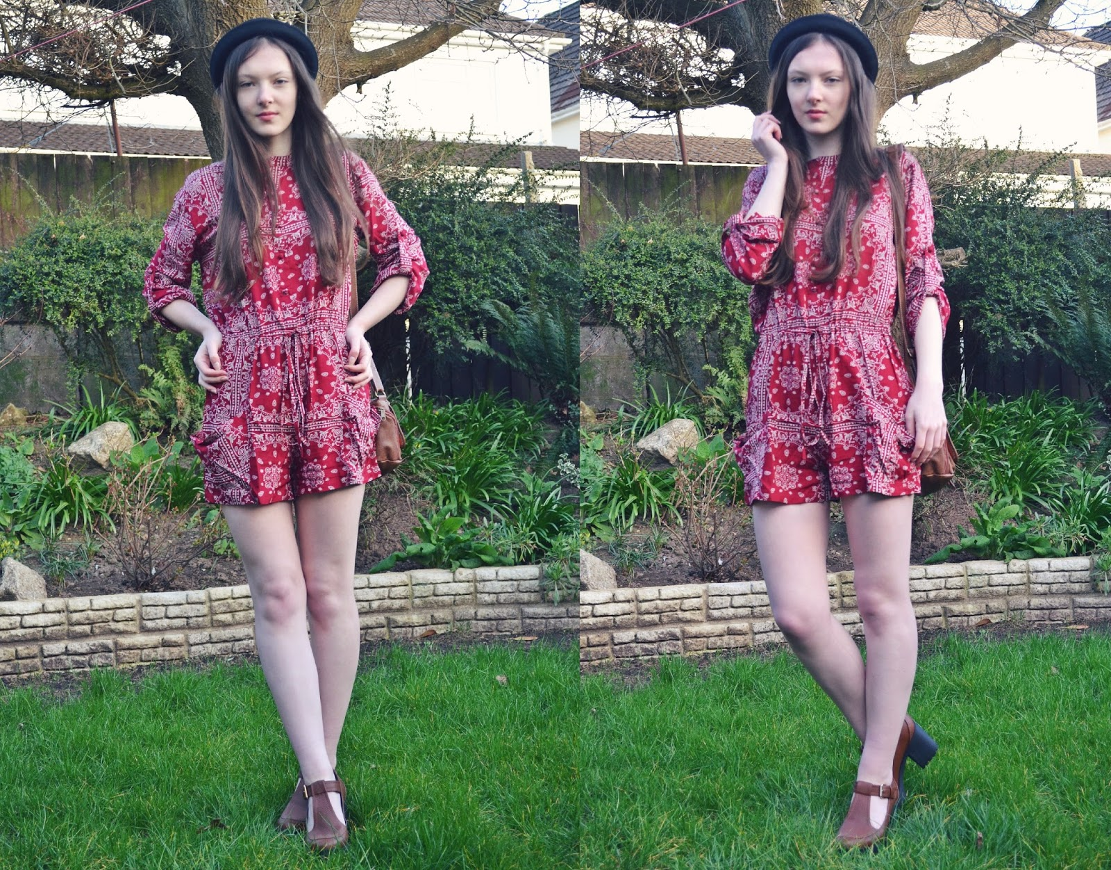 lunar look naanaa 70s playsuit