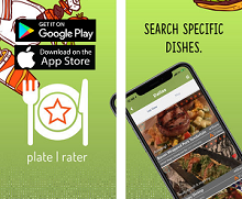Food App of the Month - Plate Rater