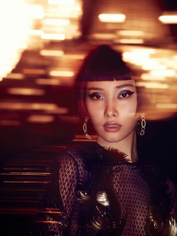 Magazine Photoshoot : Ji Young Kwak Photoshot by Jem Mitchell for Vogue Magazine China January 2014 Issue
