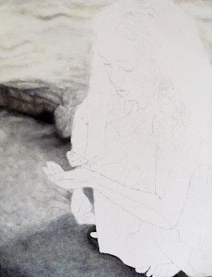 Artist, portrait artist, portrait painting, oil painting, art progress, progress artist, progress pictures