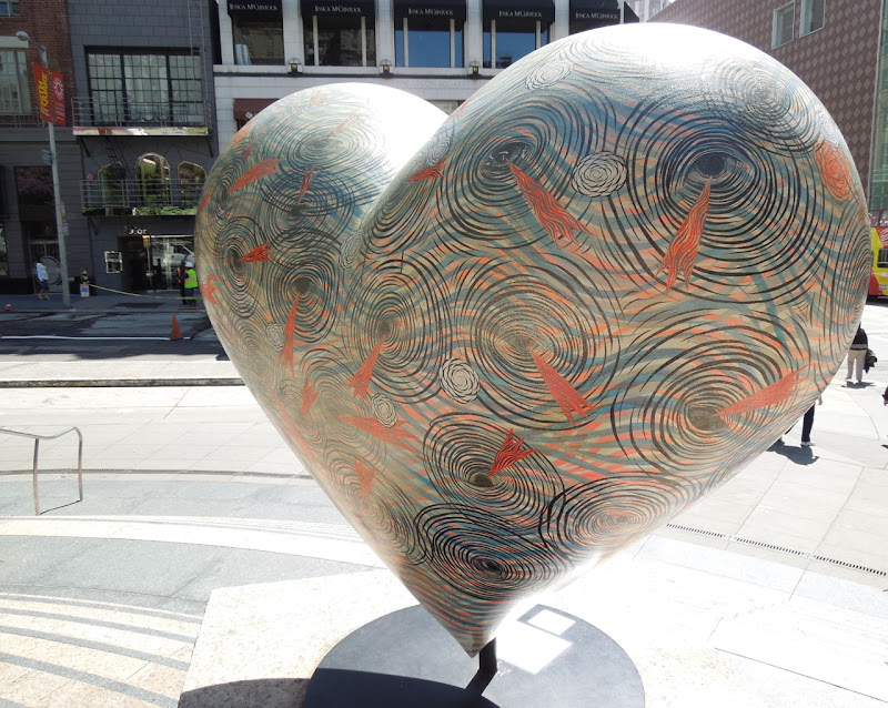 Untitled Hearts of San Francisco Andrew Schoultz