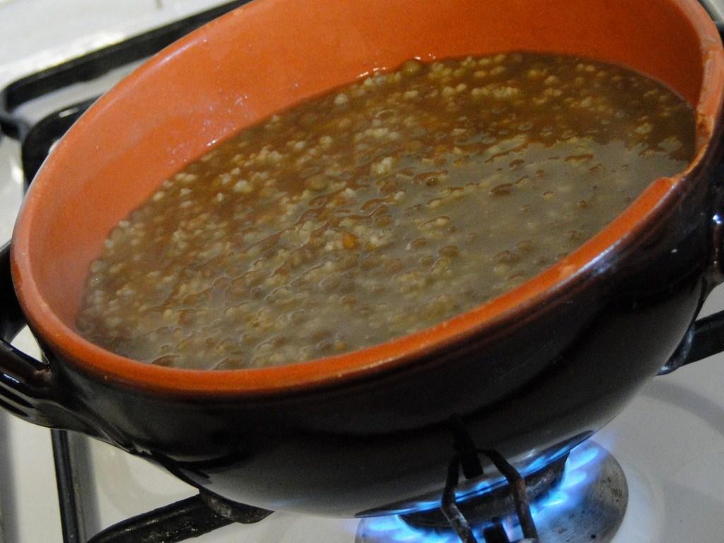 Le leccornie di danita zuppa di miglio ai broccoletti e for Cucinare miglio
