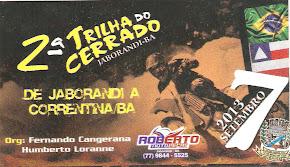 PARTICIPE DA TRILHA DO CERRADO