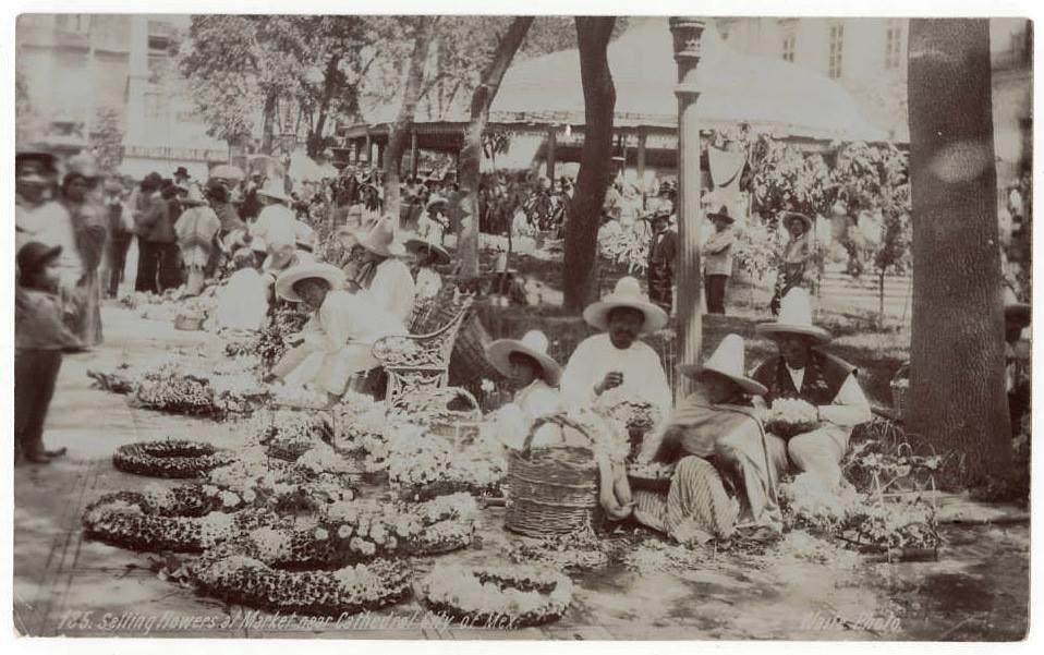 """Foto retro """"Mercado Las Flores"""""""