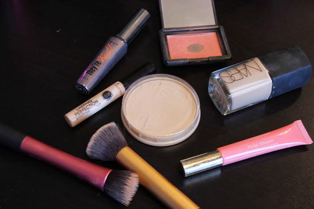 Selection of high end make-up
