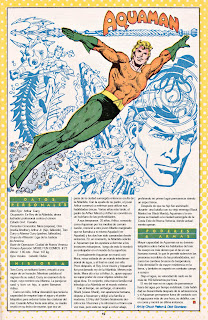 Aquaman ficha castellano dc comic