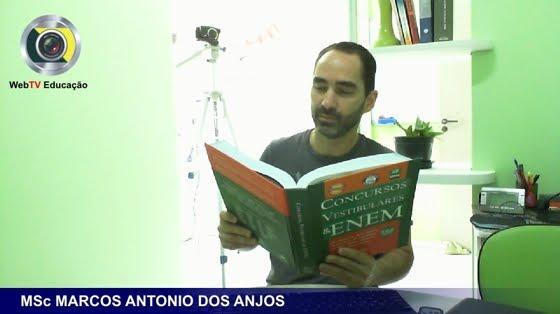 Prof. MSc MARCOS ANTONIO DOS ANJOS analisa questões do eNEM e ENADE...