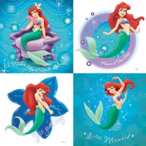 The Little Mermaid Ariel Bathroom Decorations