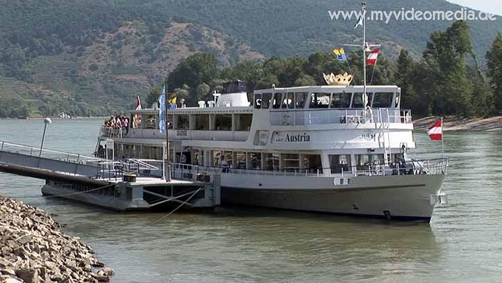 Ship on the Danube