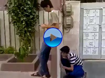 A Boy Did A Prank With Other Boy