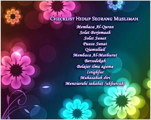 MUSLIMAH SOLEHAH =)