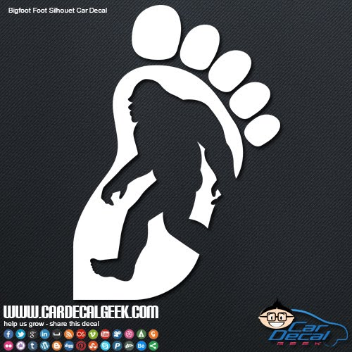 Bigfoot Decals