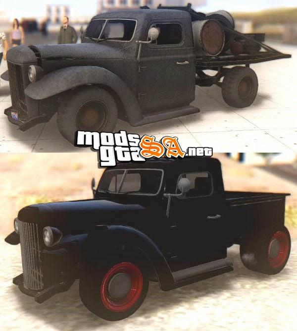 SA - Bravado Rat-Loader & Rat-Truck do GTA V