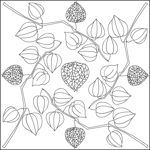 nicoles free coloring pages physalis mandala coloring page