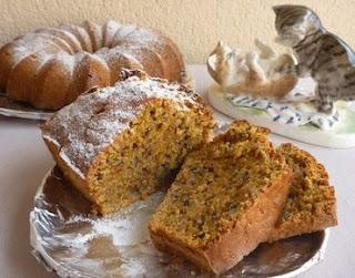 Тыквенный пирог с грецким орехом