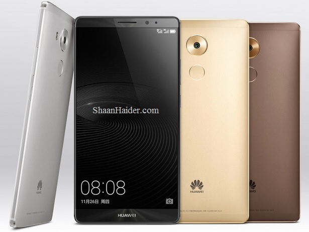 Huawei launches Mate 8 and M2 10.0 Tablet in Middle East