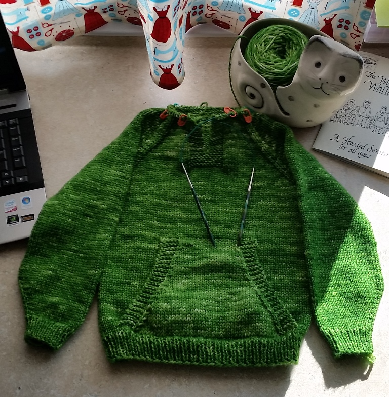 Knitting Pattern For Wallaby Sweater : Heathers Green Home Goods: The Wonderful Wallaby Sweater
