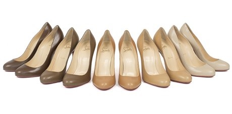 the nude collection Christian Louboutin