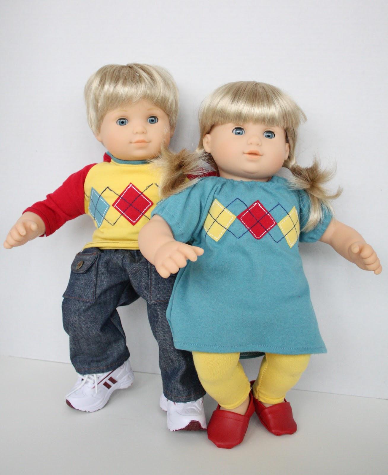 At Second Street Bitty Twins Wardrobe
