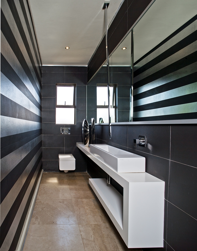 Picture of the contemporary bathroom interior