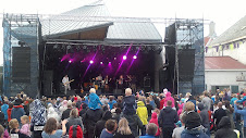 Tahitifestivalen, Kristiansund, sammen med Celine, Torstein og Batteri. 2012.