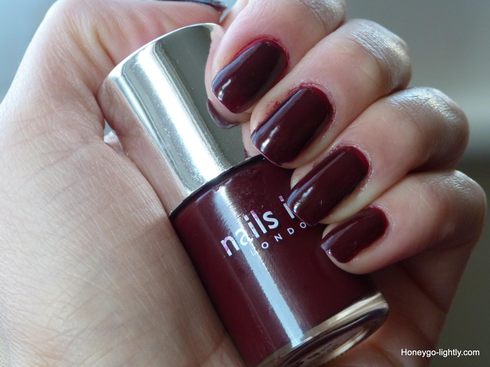 Nails Inc Paddington Street - Honey Go-Lightly