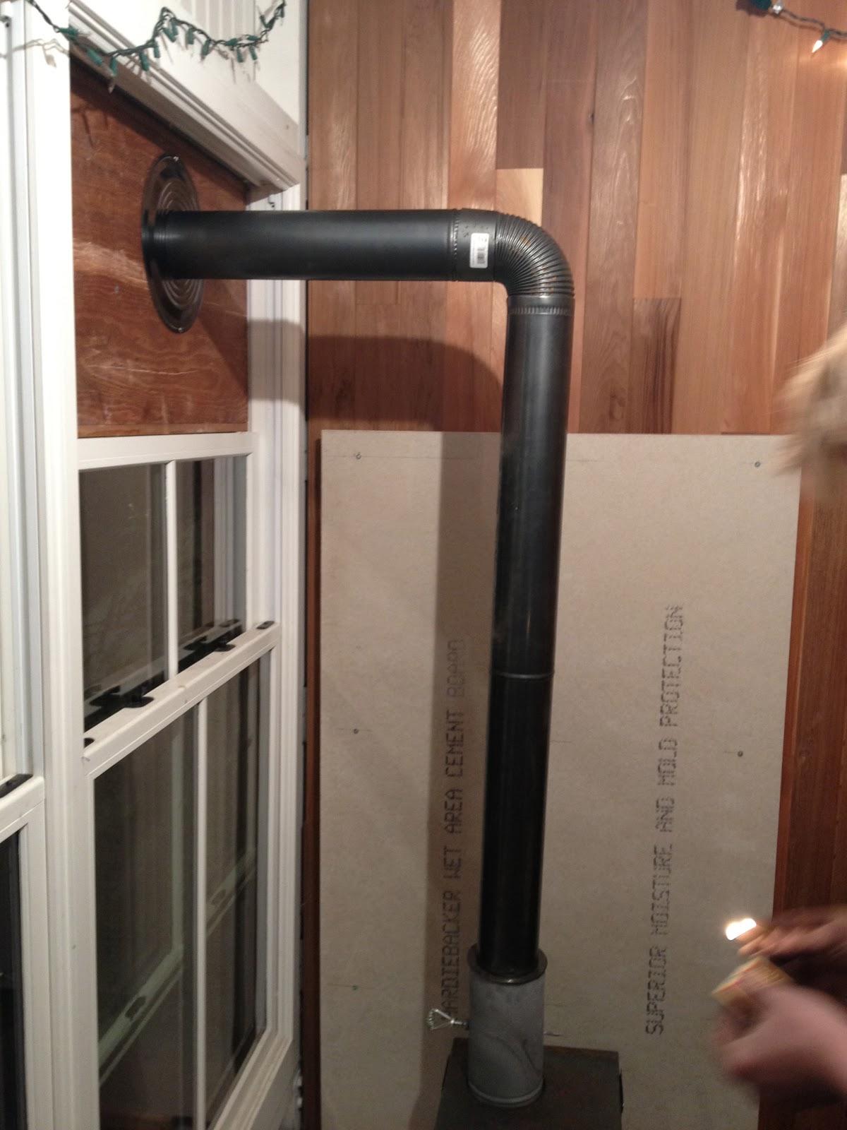 The Shingled House Wood Stove Install