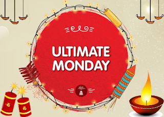 Snapdeal Ultimate Monday Diwali Sale - New Deals every hour