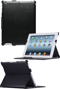 Luxury Convertible Leather Flip Case For iPad 2 / iPad 3