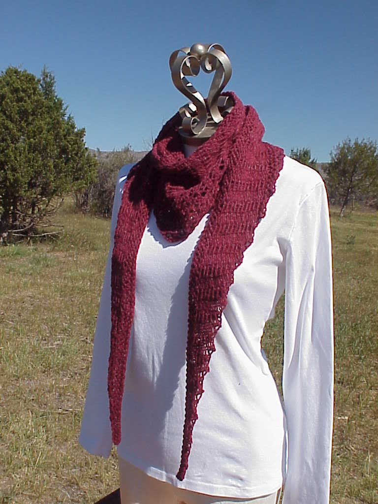 Knitting Pattern For Gallatin Scarf : Kriskrafter: Free Knitting Pattern! Jefferson Scarf