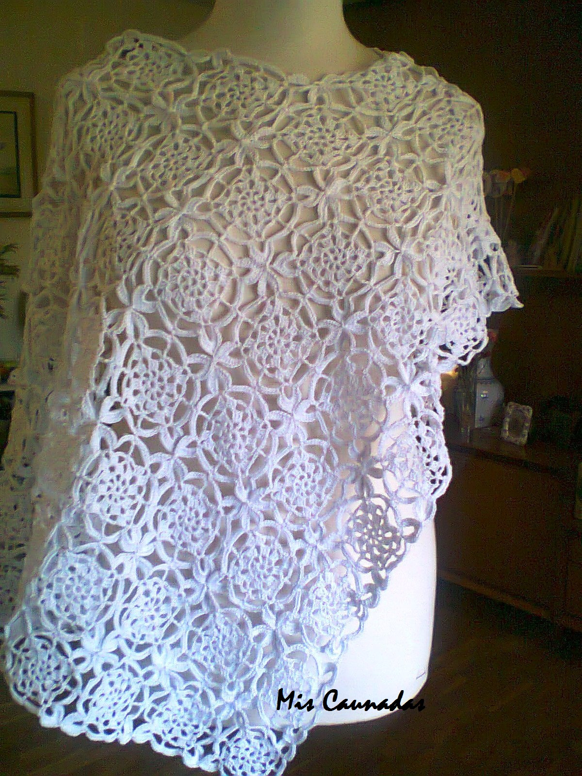 Aplicaciones a crochet cuadradas imagui - Aplicaciones de crochet para colchas ...