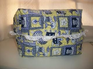 cestinha de pão patchwork
