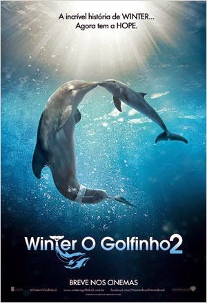 "Poster do filme ""Winter, o Golfinho 2"""