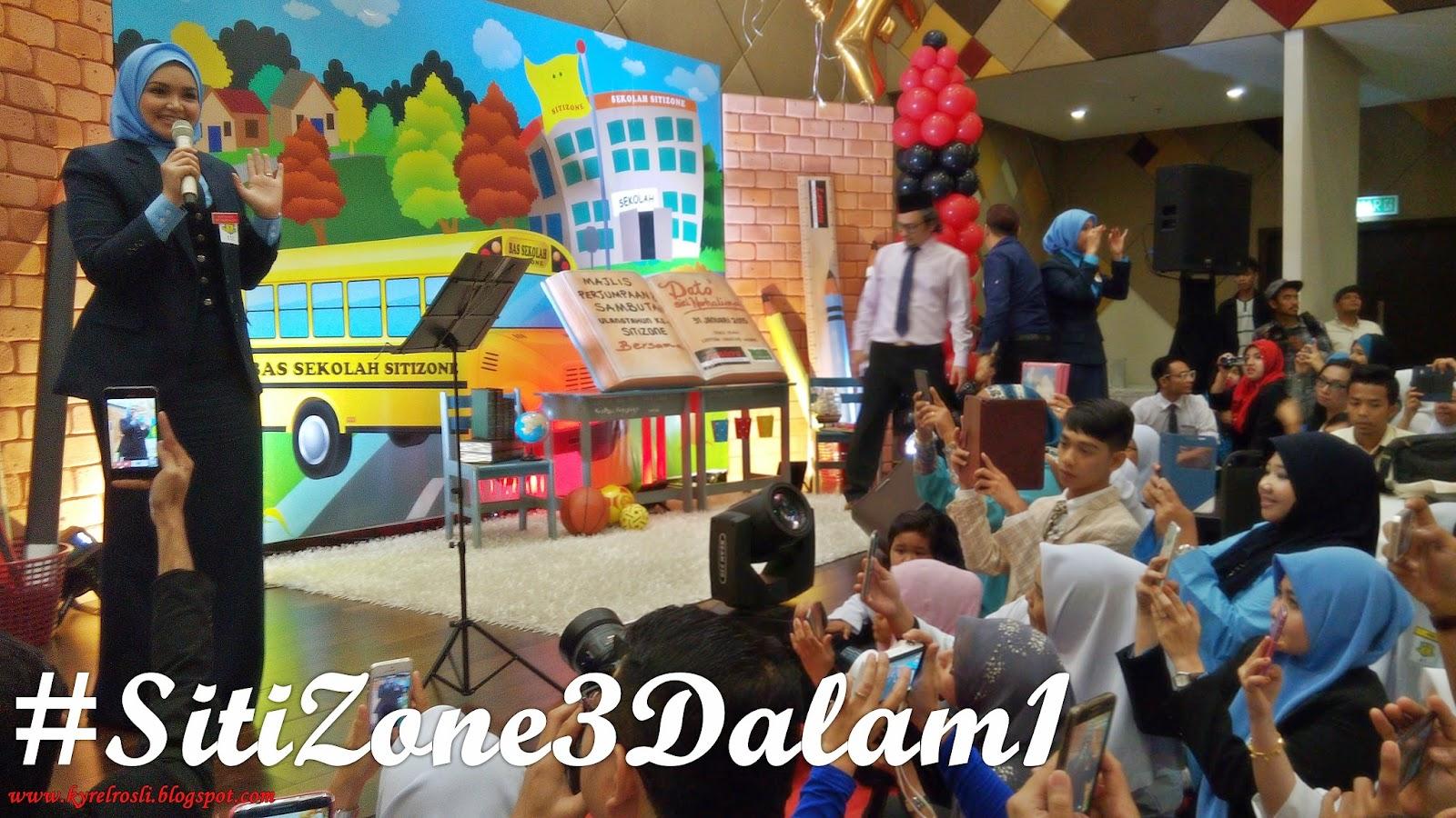 Dato' Siti Nurhaliza - Ulangtahun ke-11 #SitiZone3Dalam1