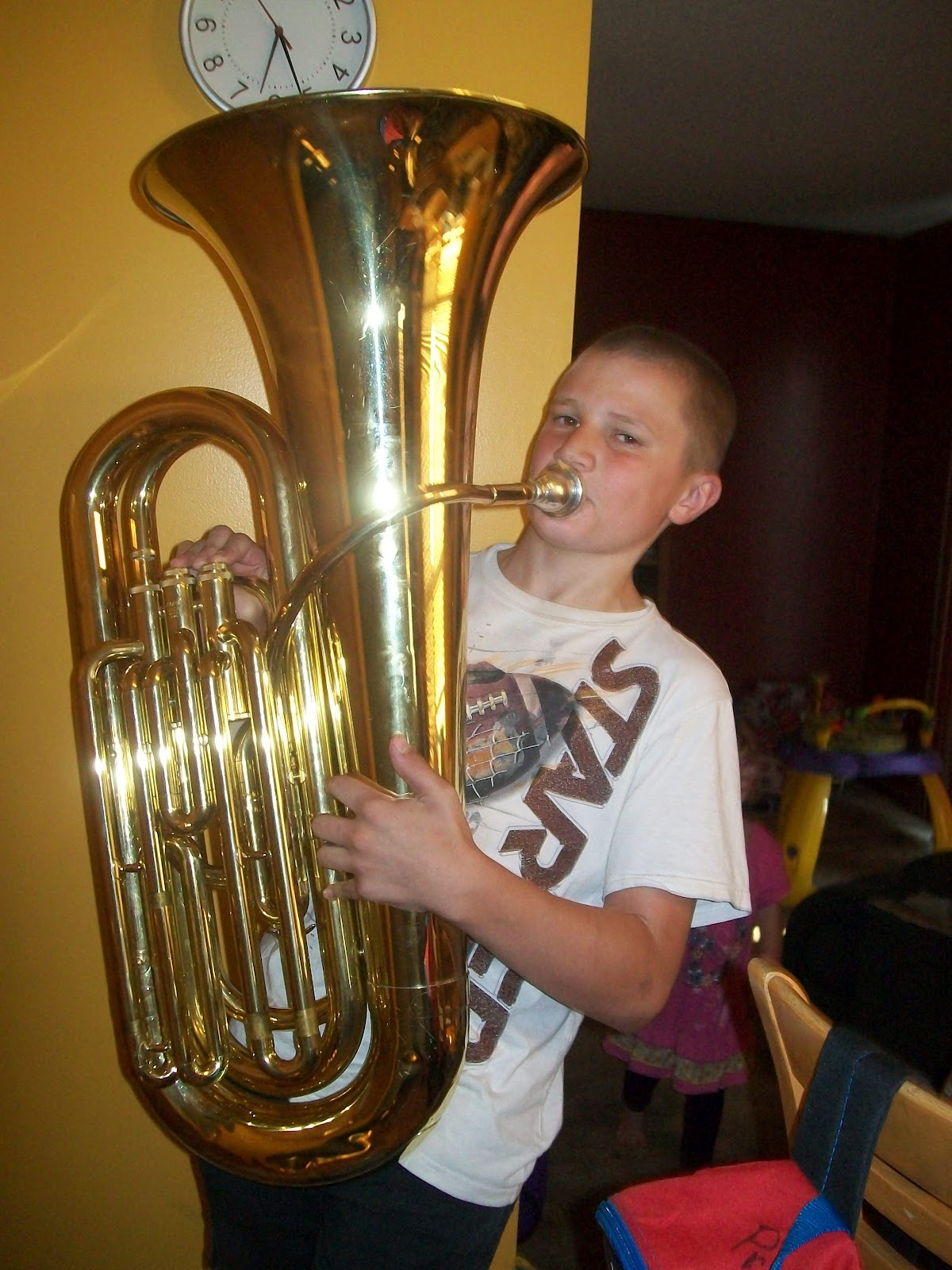 Learn to play the tuba