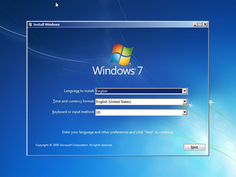 تحميل نسخة ويندوز 7 الاصلي مجانا بصيغة Iso