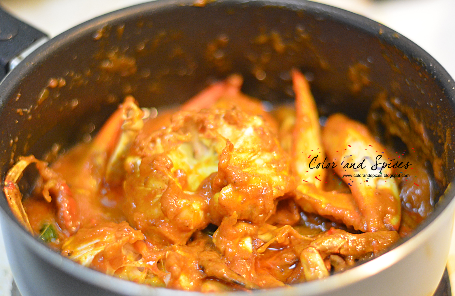 how to cook curry crab