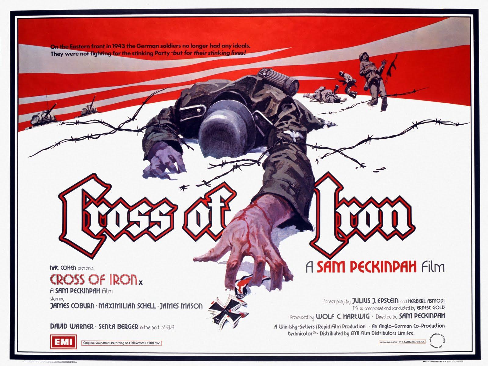 Si tuvieses que elegir tu película preferida de Sam Peckinpah Cross+of+Iron-1
