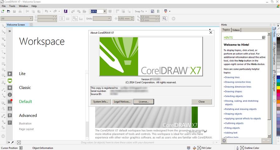 Sejarah CorelDRAW - CorelDRAW Versi X7 (2014)