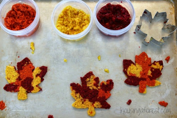 Fall Leaf Craft for Kids #fall #preschool #craftsforkids