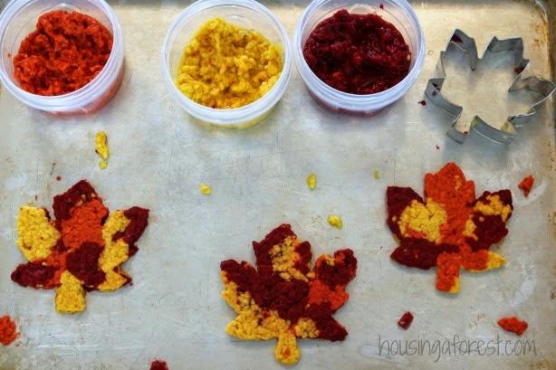 Fall Leaf Craft for Kids #fall #preschool #craftsforkids